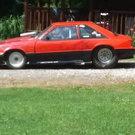 92 Mustang bracket car