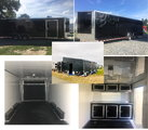 28 feet Race Ready Cargo Trailer with 28X20 feet Awning and