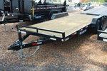20 ft Wood Deck Car Hauler