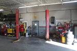 Hunter Alignment Rack, Alignment Center, 2 Dual Post Lifts