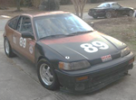 Honda CRX Racecar