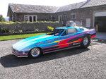 Corvette Wheelstanding Funny Car
