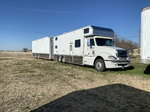 08 freightliner truck 2012 s&s trailer with slide