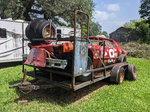 1975 Monte Carlo Dirt/Stock Car & Trailer Combo