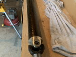 Mark Williams carbon fibre driveshaft