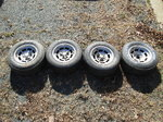 Corvette C3 Aluminum Factory Wheels