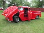 1956 Chopped custom pickup big block hot rod