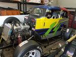 Dwarf legend race car.