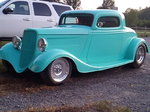 34 Ford 3 window coupe