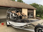 Airboat twin supercharged Ls