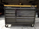 """Snap On 55"""" 11-Drawer Double-Bank Classic Series Roll C"""