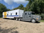 1997 48ft Wabash Trailer W/24ft of living qu
