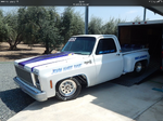 Chevy C-10 race truck