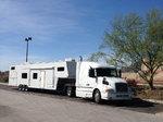 1999 Volvo/ Trailboss custom trailer/living quarters