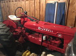 Farmall H Antique Pulling Tractor