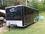 03 enclosed car trailer
