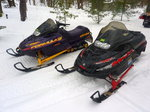 HIS & HERS SLEDS!