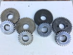 """PROFAB Quick Change Gears – 1"""" & 1-1/4"""