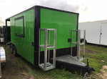 Electric Green Concession Trailer