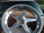 Weld front aluminum star wheel