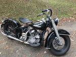 1952 Harley Panhead El, Police Bike 61ci