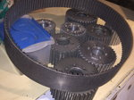 Blower pulleys and belt all for $400