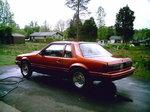 1980 Twin turbo Mustang 306 O-
