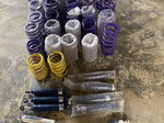 Assorted afco shocks and trucoil springs