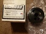 Moroso oil filter adapter part#23690