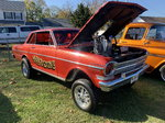 1962 nova gasser injected merlin 4 speed 9 inch