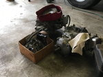 3 honda 120 QM engines