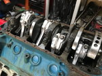 Ford 351C race engine