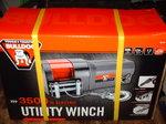 brand new  BULLDOG 3500lb HD winch