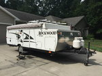 25 Ft Rockwood hw257 pop up camper