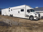 45' Volvo Custom Conversion RV with 30' King Cob