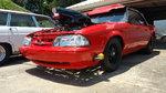 1988 Mustang Convertible 25.5 backhalf roller ex Pro 5.0