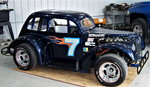 LEGENDS RACE CAR with NASCAR background