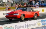 1988 25.5 Mustang convertible backhalf chassis roller