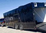 8.5x24TA3 Black/Blackout Racing Trailer  for sale $16,138