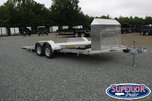 2022 Aluma 8216 Low Clearance Tilt Car Trailer w/ JT Package  for sale $11,699