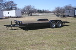 New 2019 20' Wood Floor Flat Bed Trailer