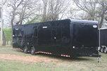 New 2018 34' Cont. Cargo Car Trailer w/Bath PKG for Sale $26,418