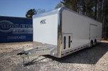 2020 ATC Quest CH305 28ft. Aluminum w/6,000lb. Axles Enclose