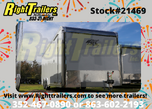 2021 8.5'x24' ATC Enclosed Race Trailer  for sale $18,499