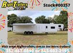 2021 8.5 x 48 Vintage Gooseneck Race Trailer