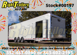 2021 8.5'x34' Vintage Race Trailer  for sale $29,999