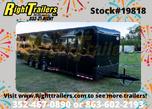 2020 8.5X32 Cargo Mate Race Trailer  for sale $24,999