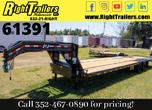 2021 8.5x36 PJ Gooseneck Powertail Equipment Trailer