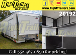 2021 8.5 x 32 Cargo Mate Race Trailer for Sale