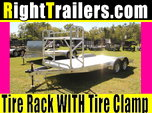 18' Aluminum Car Hauler w/ Beavertail